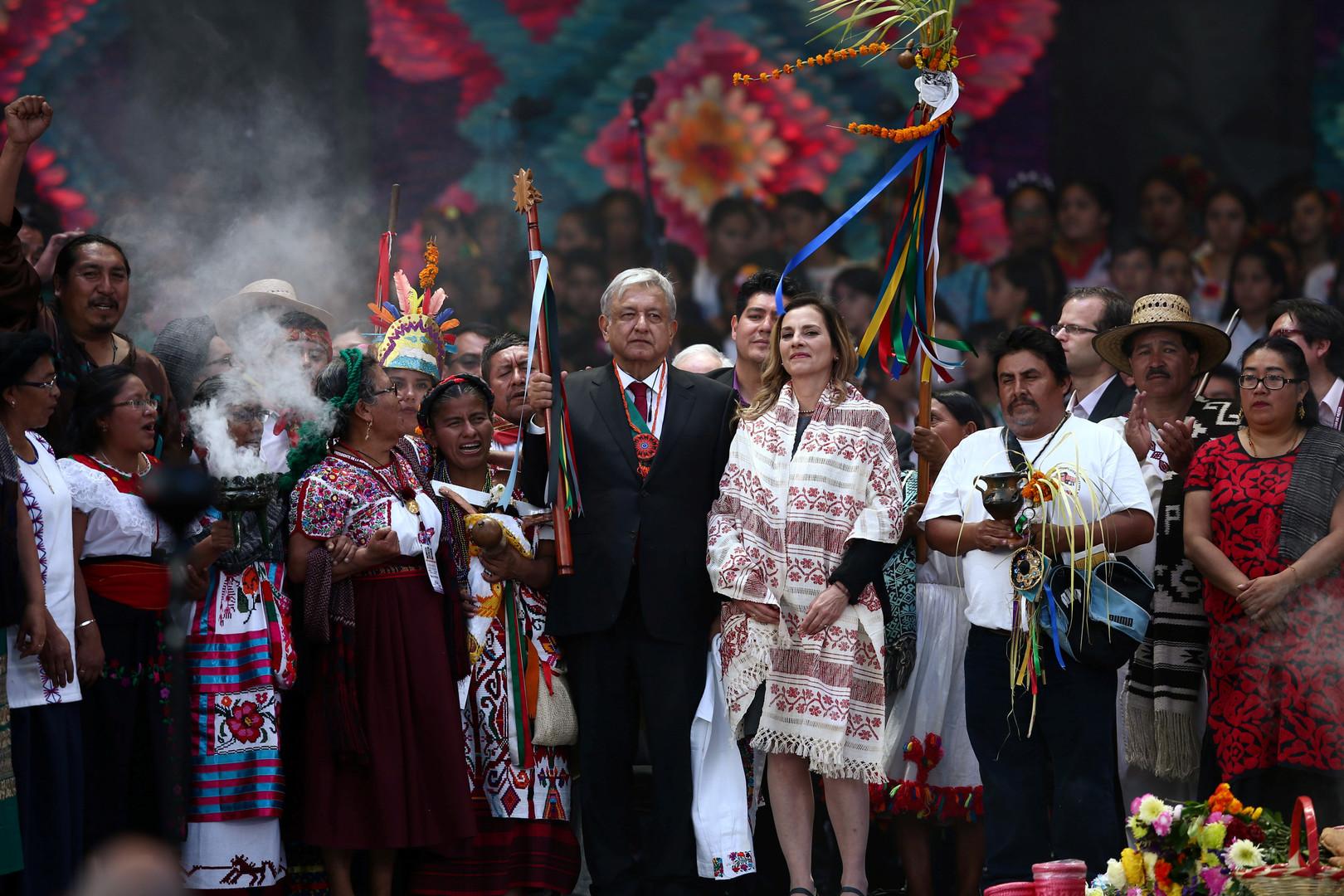 Le nouveau président mexicain réduit son salaire de 50% et quitte la résidence présidentielle