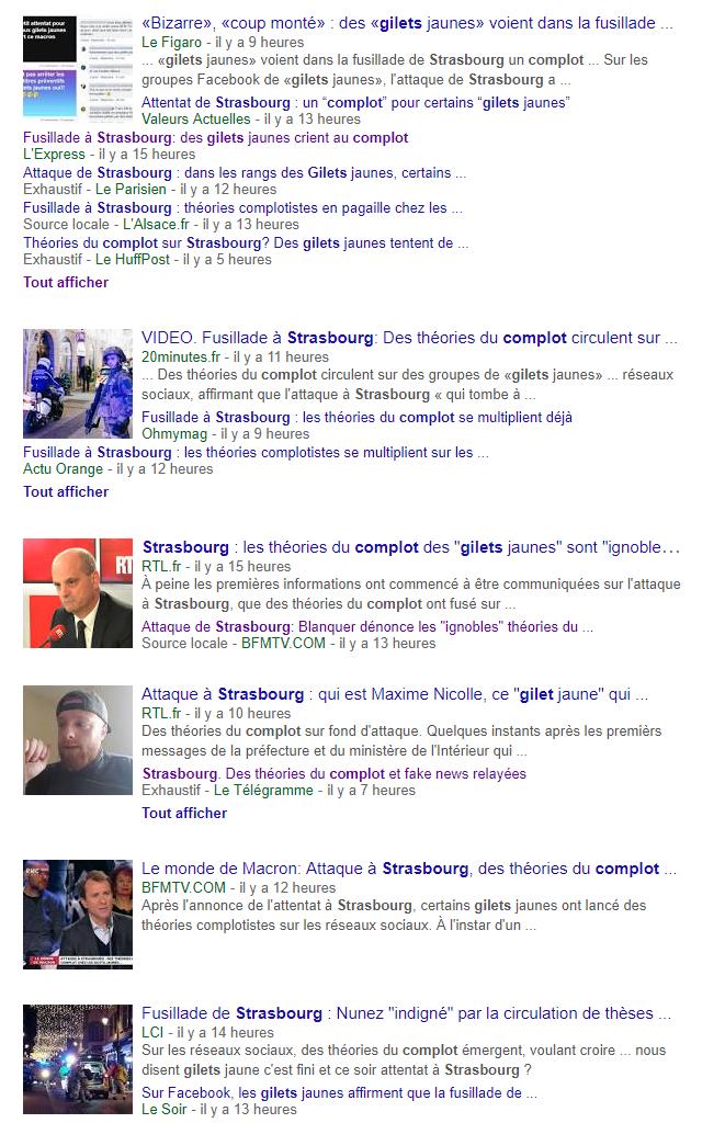 Strasbourg : pourquoi les médias s'intéressent-ils tant au «complotisme» des Gilets jaunes ?