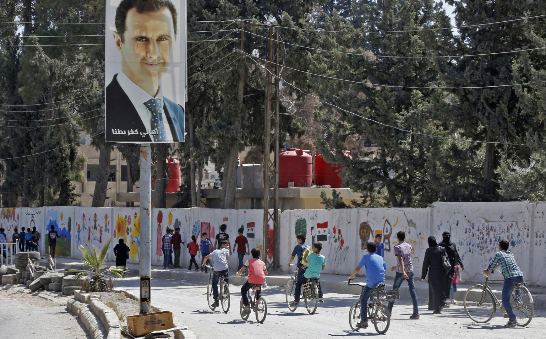 Syrie : Washington ne cherche pas à se «débarrasser d'Assad» mais veut un changement «fondamental