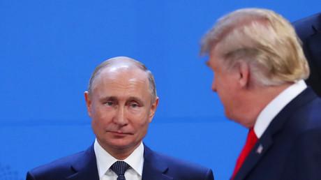 Après s'être évités, Donald Trump et Vladimir Poutine se sont brièvement parlé au G20