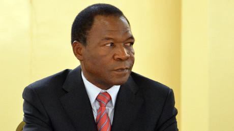 François Compaoré, frère du président burkinabé déchu, Blaise Compaoré, participe à un sommet à Ouagadougou, le 20 décembre 2012.