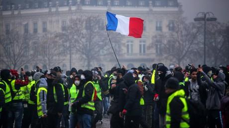 Près de l'Arc de Triomphe le 1er décembre 2018 (image d'illustration).