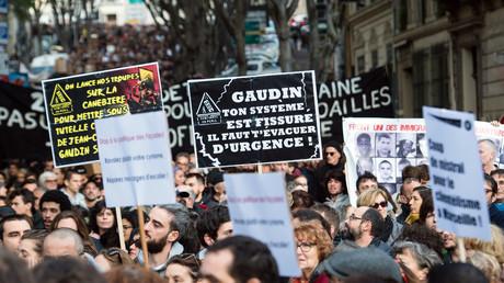 Manifestations contre les logements insalubres à Marseille le 1er décembre.