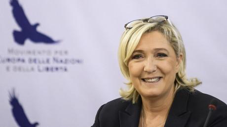Marine Le Pen, le 16 novembre 2018 à Sofia.