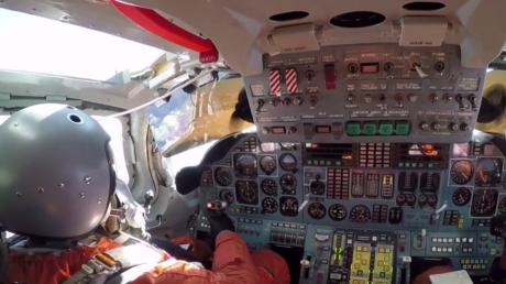 Le vol d'un bombardier supersonique russe comme si vous y étiez