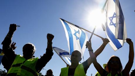 Les Gilets jaunes débarquent en Israël contre la hausse des prix (VIDEO)