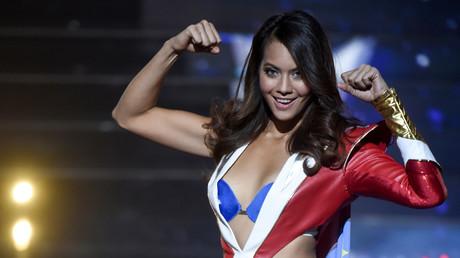 La nouvelle Miss France, Vaimalama Chaves, le 15 décembre 2018 à Lille (image d'illustration).