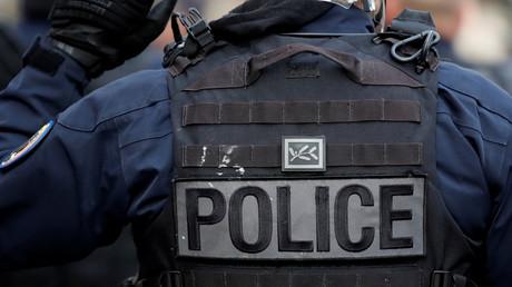 Un policier déployé lors d'une manifestation étudiante à Paris le 18 décembre, (image d'illustration).