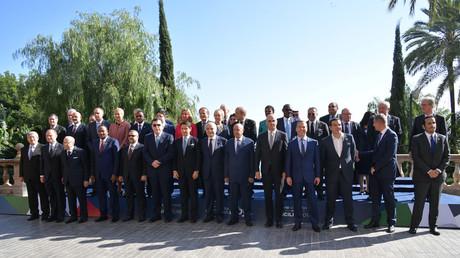 La délégation présente à la conférence de Palerme sur la Libye, le 13 novembre 2018 (image d'illustration).