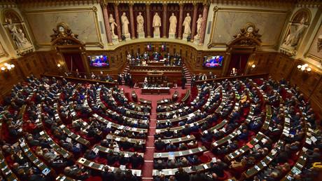 Le Sénat, chambre haute du parlement français.