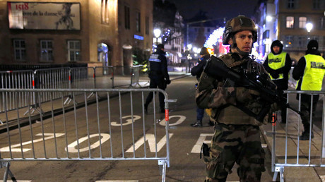 Un cordon de sécurité est mis en place juste après l'attentat de Strasbourg du 11 décembre (Image d'illustration).