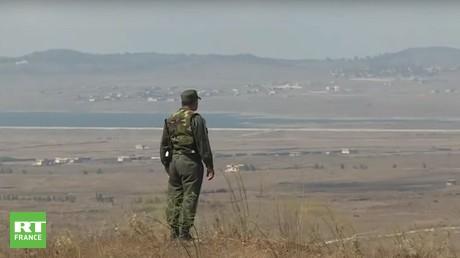 Un militaire sur le plateau du Golan (image d'illustration).