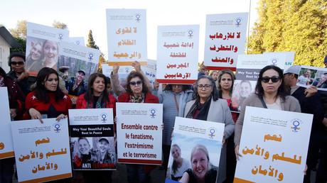 Hommage aux deux Scandinaves assassinées, devant l'ambassade du Danemark, à Rabat, le 22 décembre (image d'illustration).