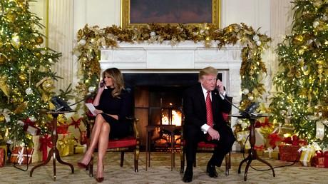 «Bizarre à ton âge !» : Trump se moque d'un enfant qui croit encore au père Noël (VIDEO)