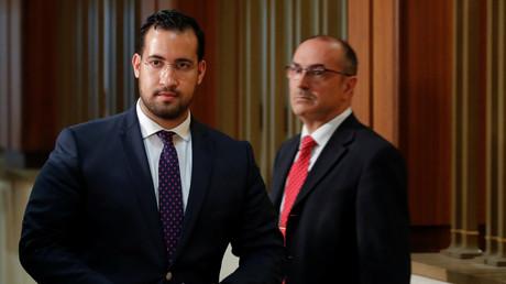Alexandre Benalla le 19 septembre 2018 au Sénat (image d'illustration).