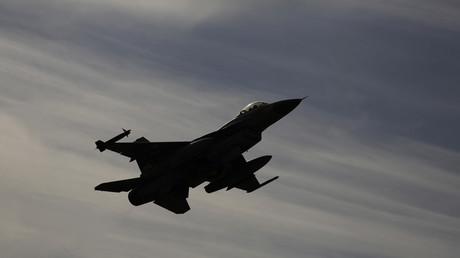 Un avion de chasse de l'armée israélienne.