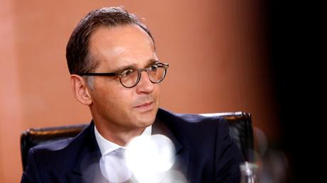 Le chef de la diplomatie allemande, Heiko Maas (image d'illustration).