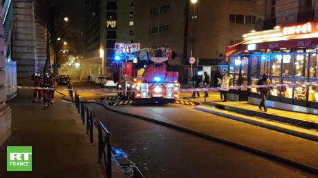 Incendie devant les locaux du Parisien : Twitter s'enflamme puis se rétracte