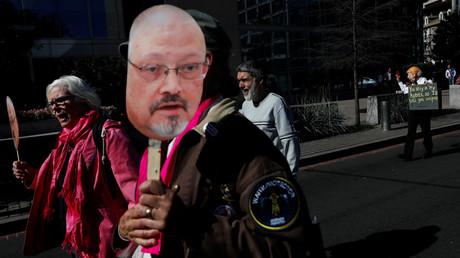 Manifestation devant la Maison Blanche à Washington le 19 octobre 2018 demandant «justice» pour le défunt journaliste saoudien Jamal Khashoggi (image d'illustration).