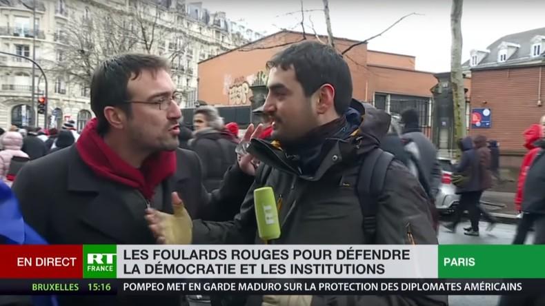 produits de commodité nouveaux prix plus bas grande remise Des journalistes de RT France pris à partie lors de la ...