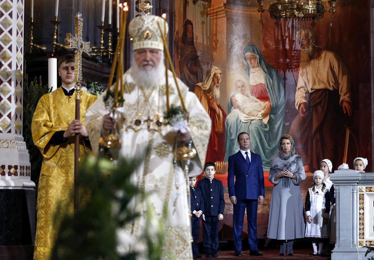 Les chrétiens orthodoxes du monde entier célèbrent Noël (IMAGES, VIDEOS)