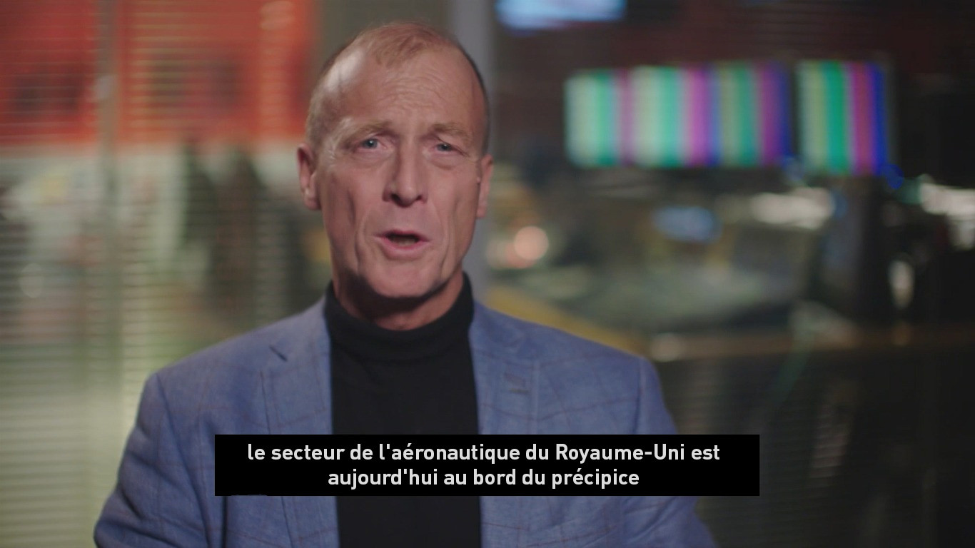 Tom Enders is warning you : Airbus menace 110 000 emplois au Royaume-Uni par message vidéo