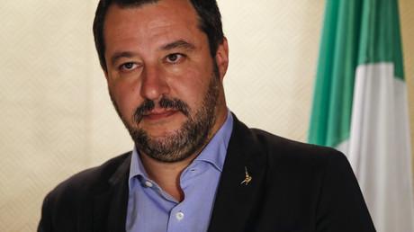 Le ministre italien de l'Intérieur Matteo Salvini.