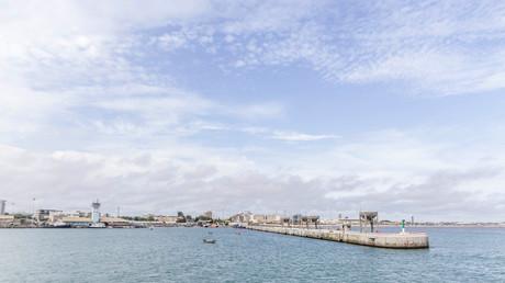 Le port de Cotonou au Bénin.