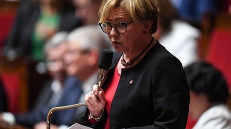 Patricia Gallerneau à l'Assemblée Nationale le 16 juin 2018.