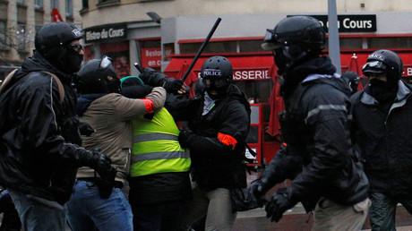 Manifestation des Gilets jaunes à Nantes le 15 décembre 2018 (image d'illustration).