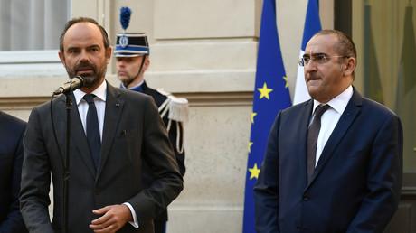 Edouard Philippe et Laurent Nunez, en octobre 2018.