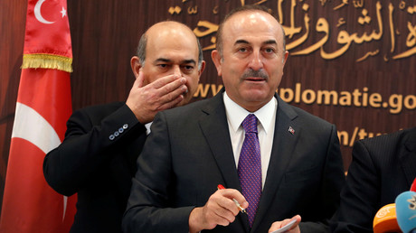 Le ministre turc des Affaires étrangères Mevlut Cavusoglu.