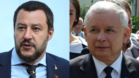 Igor Zarembo / Sputnik Kacz Lisi Niesner / Reuters Salvini