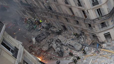 Une violente explosion, dûe à une fuite de gaz, a tué au moins trois personnes rue de Trévise, à Paris.