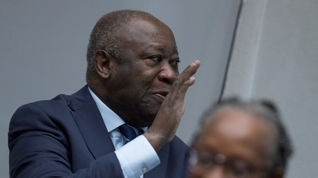 Laurent Gbagbo, devant la CPI me 15 janvier 2019.