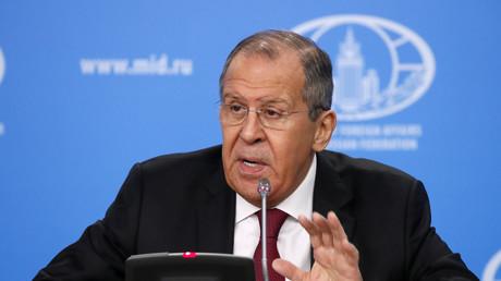 Sergueï Lavrov le 16 janvier 2019.