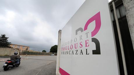 L'entrée de la base militaire de Francazal, le 7 juin 2011 (image d'illustration).