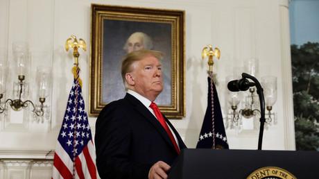 Le président américain, Donald Trump, le 19 janvier 2019 à Washington.