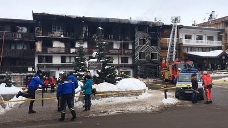 Courchevel : un incendie spectaculaire fait au moins deux morts