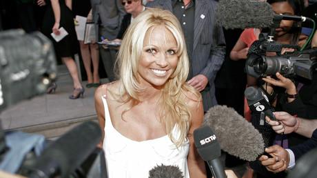 Pamela Anderson à Londres en 2006 (image d'illustration).