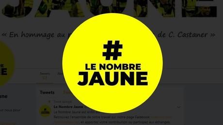 «Le Nombre Jaune» : 147 365 Gilets jaunes dans les rues lors de l'acte 10, selon un nouveau décompte