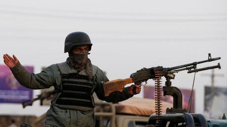 Un membre des forces de sécurité afghanes sur le site d'un attentat à Kaboul le 24 décembre 2018 (image d'illustration).