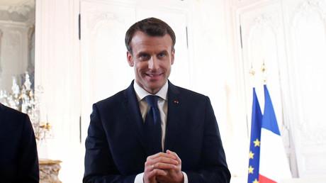 Emmanuel Macron lors du précédent sommet «Choose France» organisé à Versailles en 2018 (image d'illustration).
