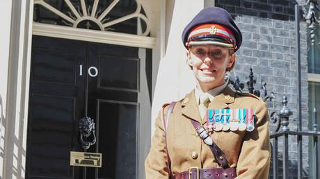 L'infirmière, et colonel de l'armée britannique, Alison McCourt a porté les premiers secours à Sergueï et Ioulia Skripal le 4 mars 2018.
