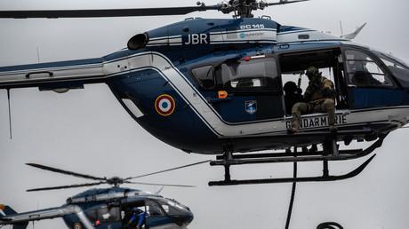Un hélicoptère de la gendarmerie (image d'illustration).