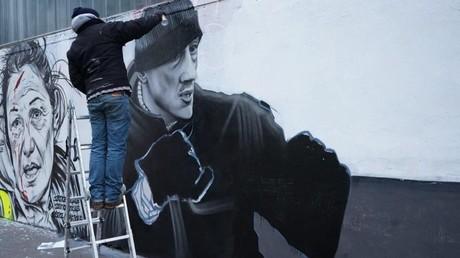 Paris : une fresque en hommage aux Gilets jaunes et à Christophe Dettinger (PHOTOS)