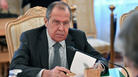 Le ministre des Affaires étrangères Sergueï Lavrov.