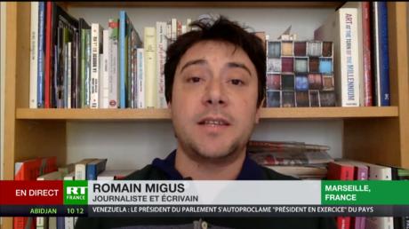Romain Migus : Les richesses du Venezuela excitent les grandes puissances impérialistes