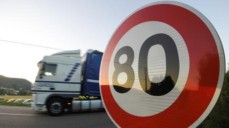 Expérimentation des 80km/h en Haute-Saône, en 2015 (image d'illustration).