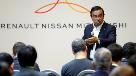 Carlos Ghosn, en janvier 2018.